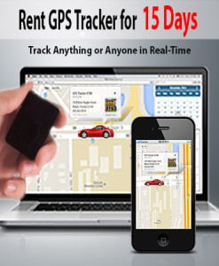 rent a gps tracker for 15 days