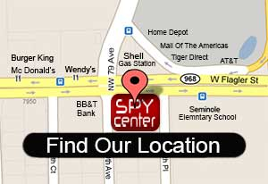 Contact Spy Center - See Our Map