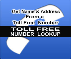 toll free number lookup