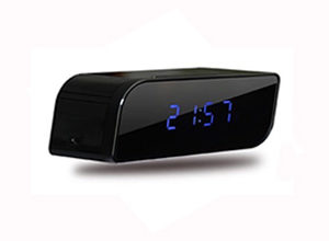 wifi ip clock camera