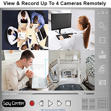 remote internet live view smoke detector camera spy