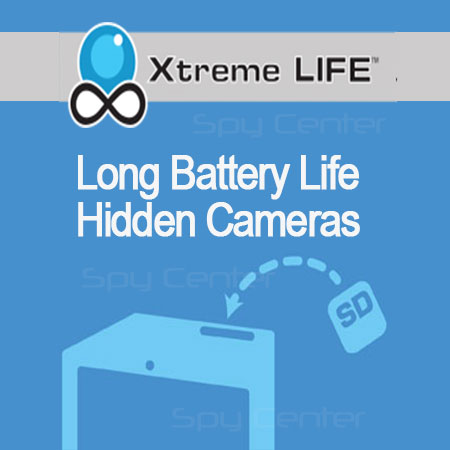 XtremeLife Hidden Cameras | Long Battery Life Spy Camera DVR Systems